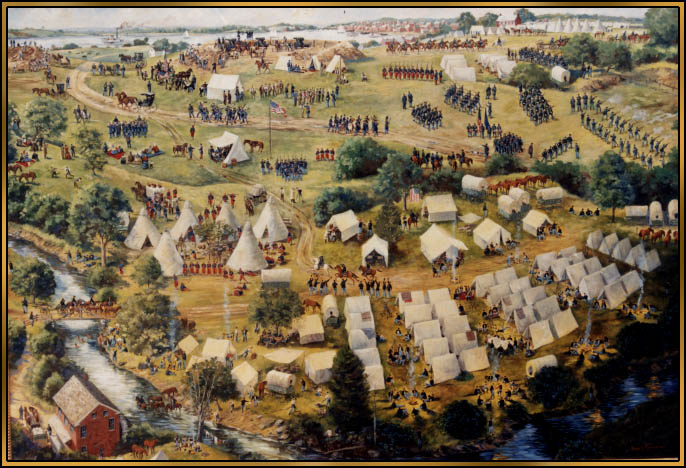 Encampment Painting